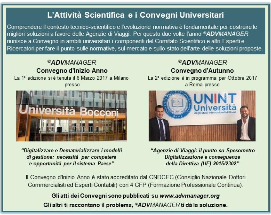 comitato scientifico convegni